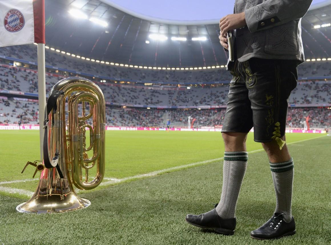 A Oktoberfest também chegou à Bundesliga: num jogo Bayern vs Paderborn em Munique