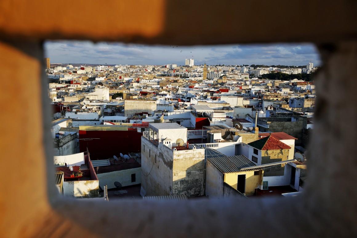 Rabat e o tesouro das cores