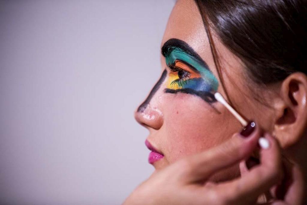 A maquilhagem nos bastidores de Alexandra Moura