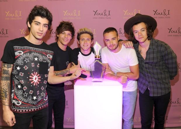 One Direction lançam novo perfume para as fãs