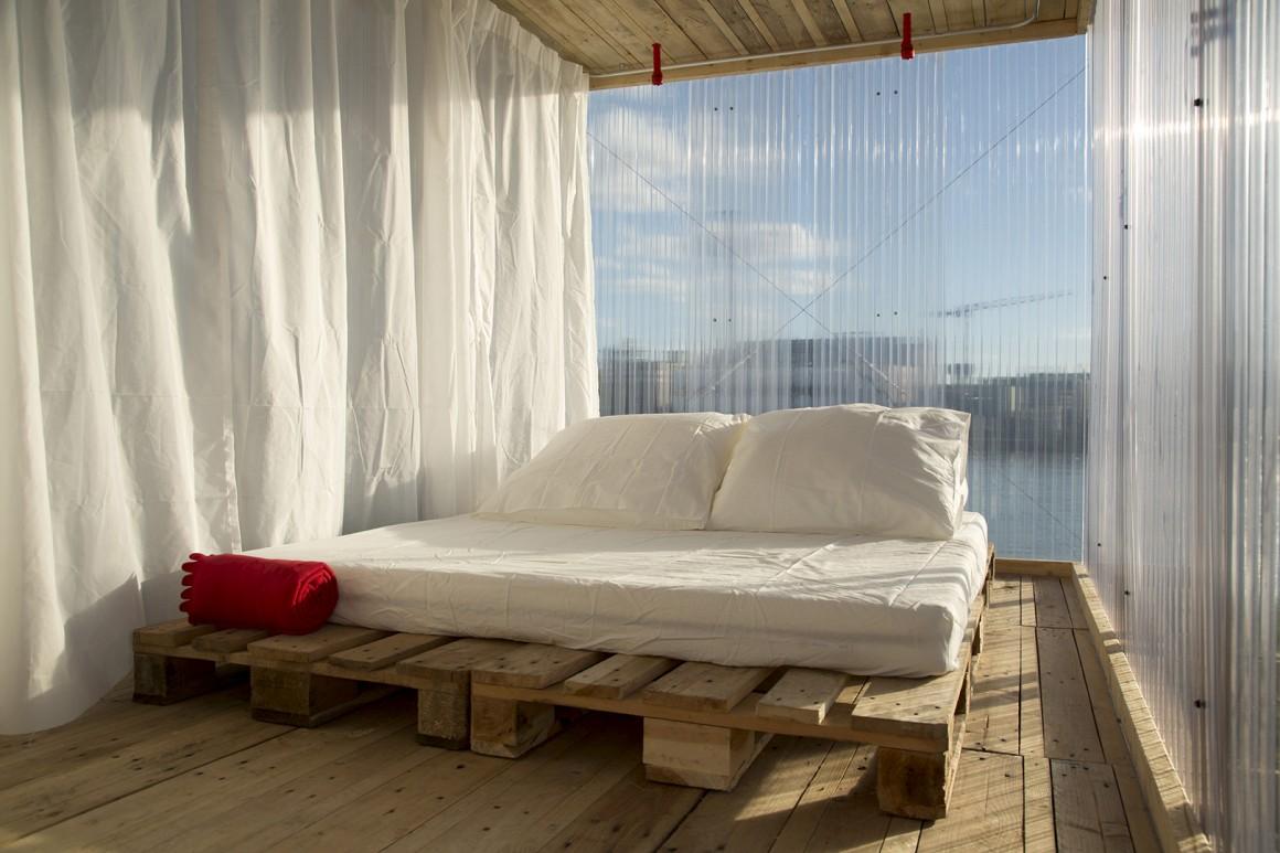 Um quarto ao ar livre? Dois arquitectos portugueses criaram-no e foram premiados na Alemanha