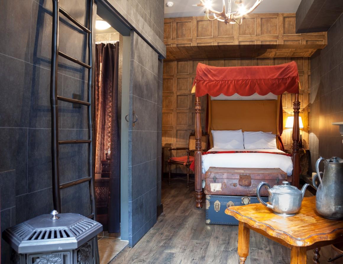 Um quarto para Harry Potter