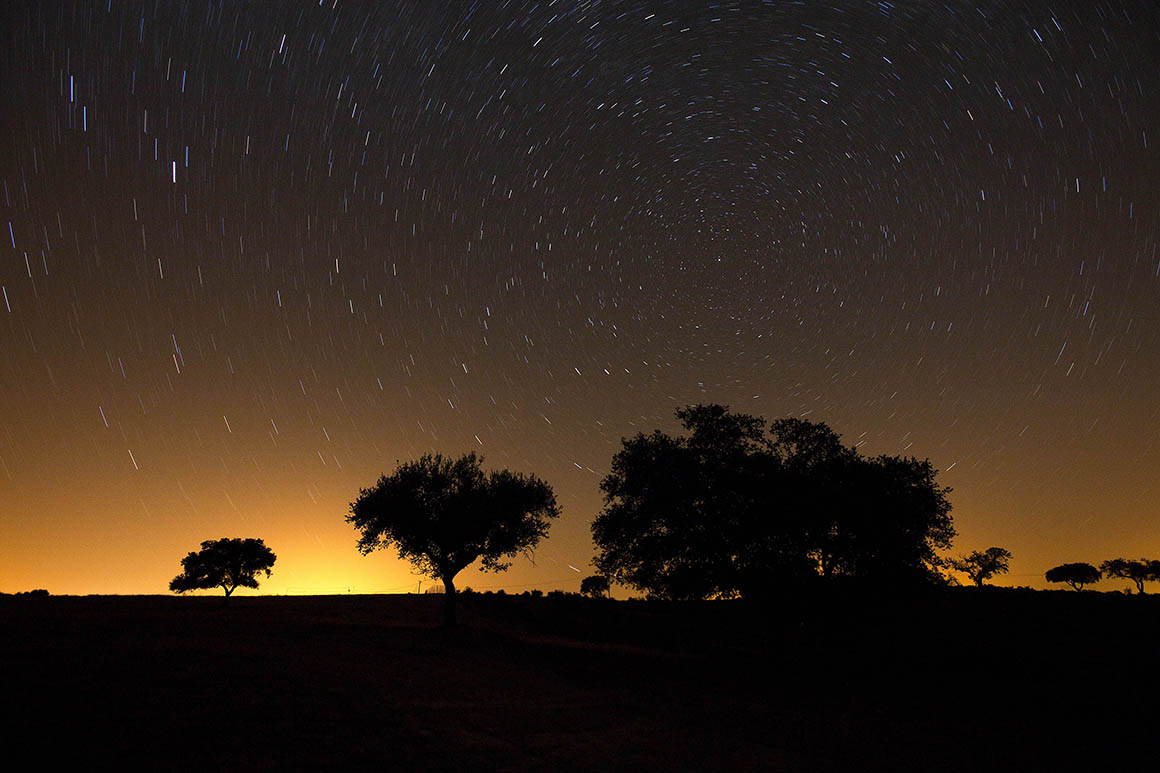 Admirar o céu estrelado do Alentejo lidera top das 10