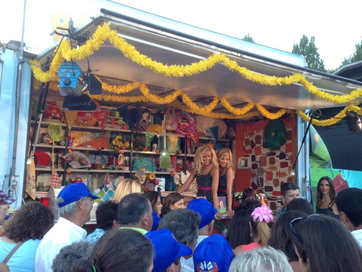 Festa popular em Alcobaça