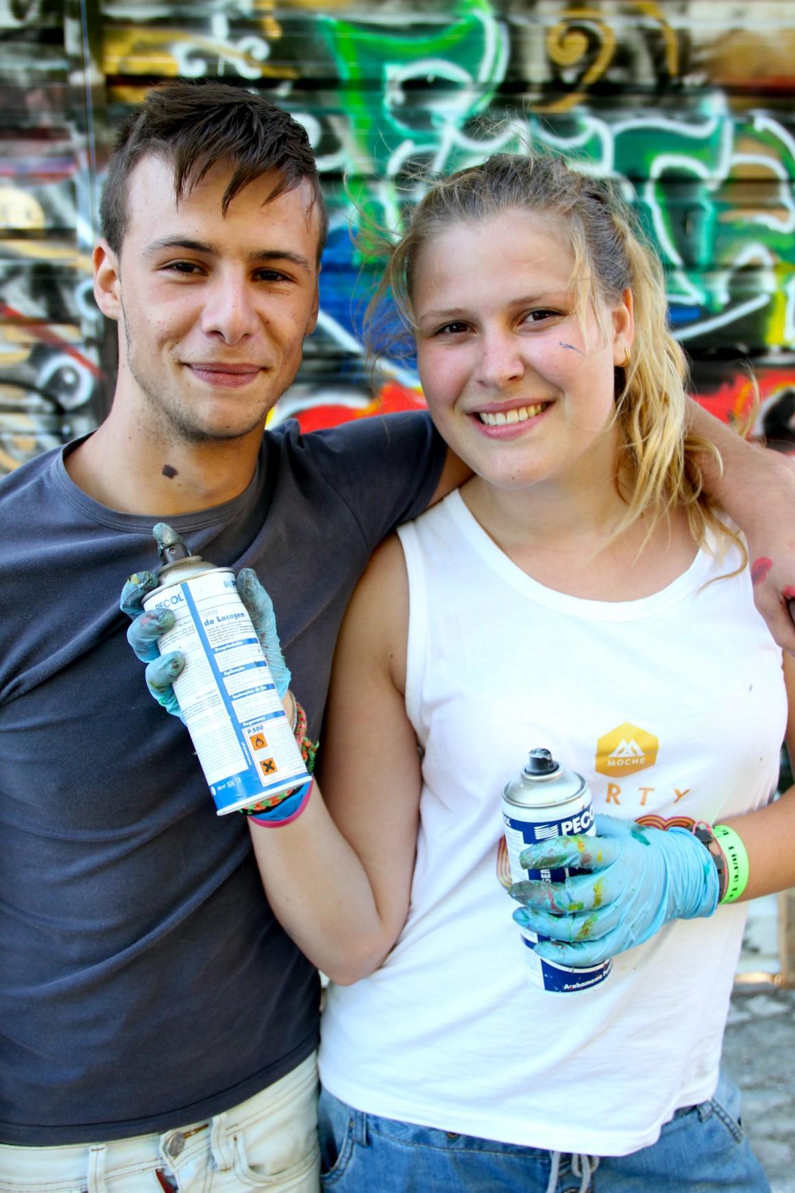 Graffiters da zona Oeste