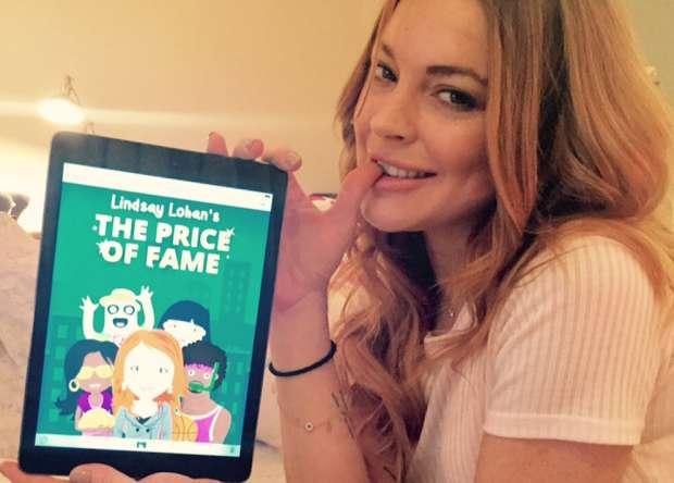 A actriz partilhou no Twitter uma foto a anunciar o lançamento do jogo