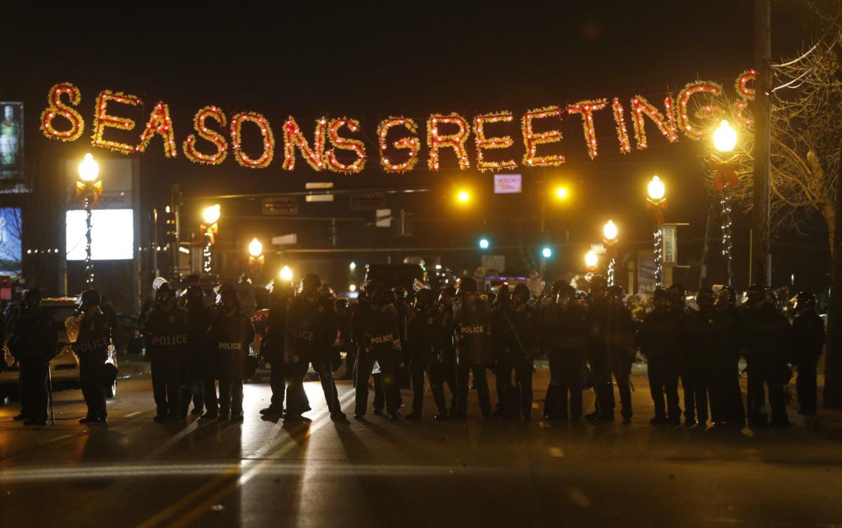 Manifestação em Ferguson, Missouri
