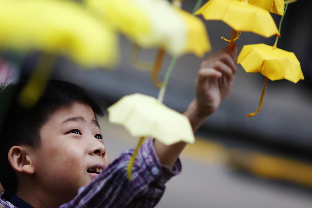 Protestos pró-democracia em Hong Kong