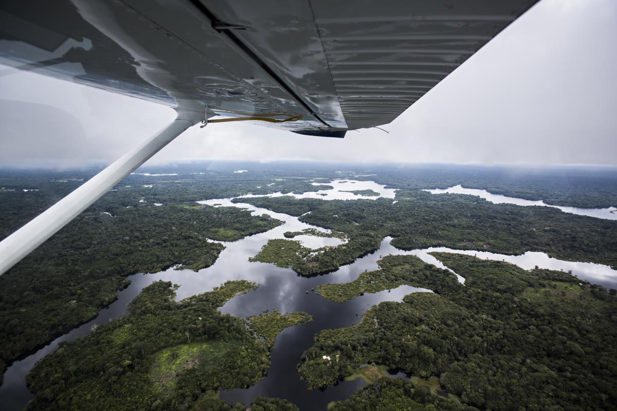 Manaus - Viagem de hidroavião pela Amazónia