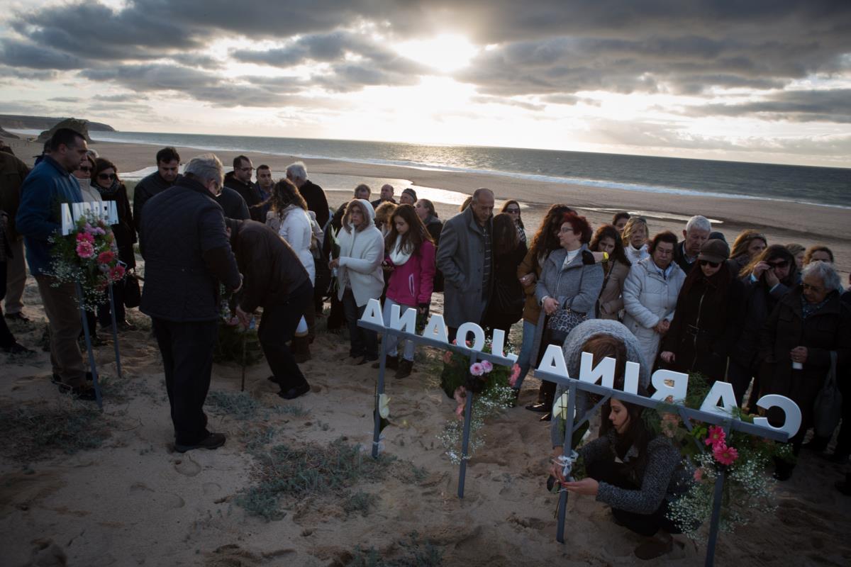 Cerimónia a assinalar um ano volvido sobre o acidente na praia do Meio envolvendo alunos da comissão de praxes