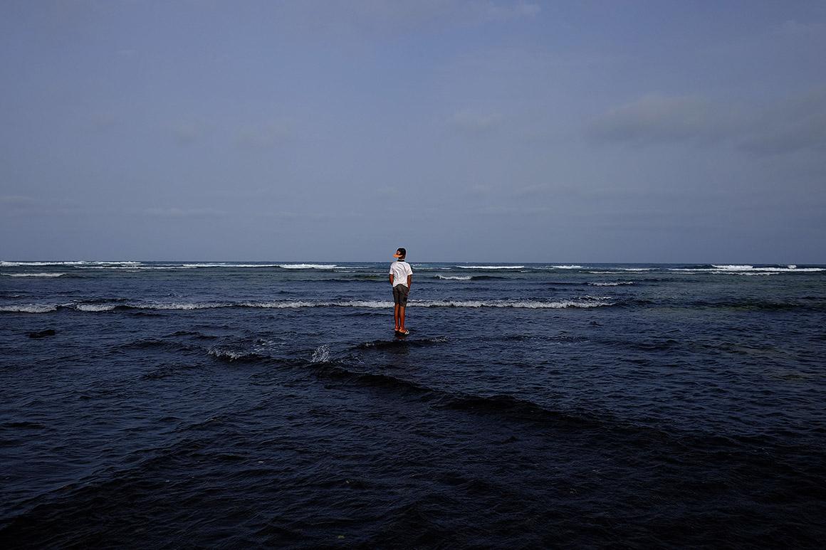 Cabo Verde, ilha do Sal - Cidade de Santa Maria - Praia