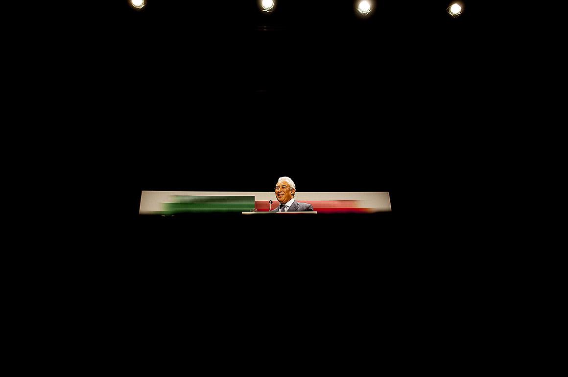 Eleições primárias no PS - Convenção Nacional Mobilizar Portugal. Na foto o candidato a secretário-geral e actual presidente da CML, António Costa