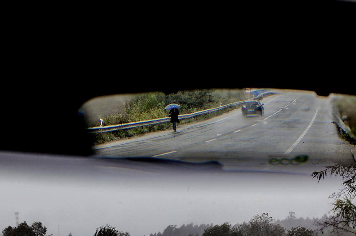 Portugal, Aveiro - Mau tempo, chuva, frio