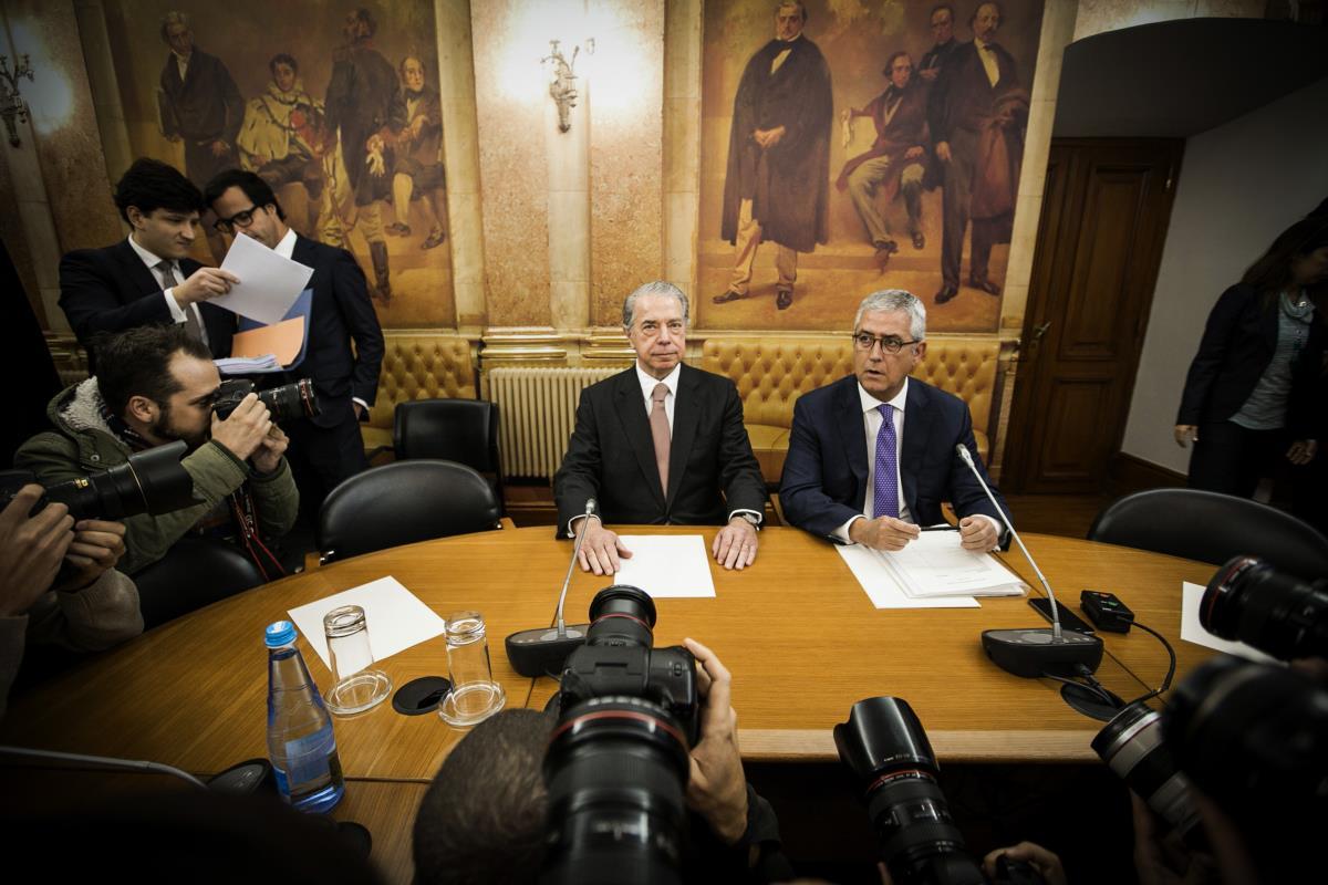 Ricardo Salgado na comissão parlamentar de inquérito à gestão do BES/GE