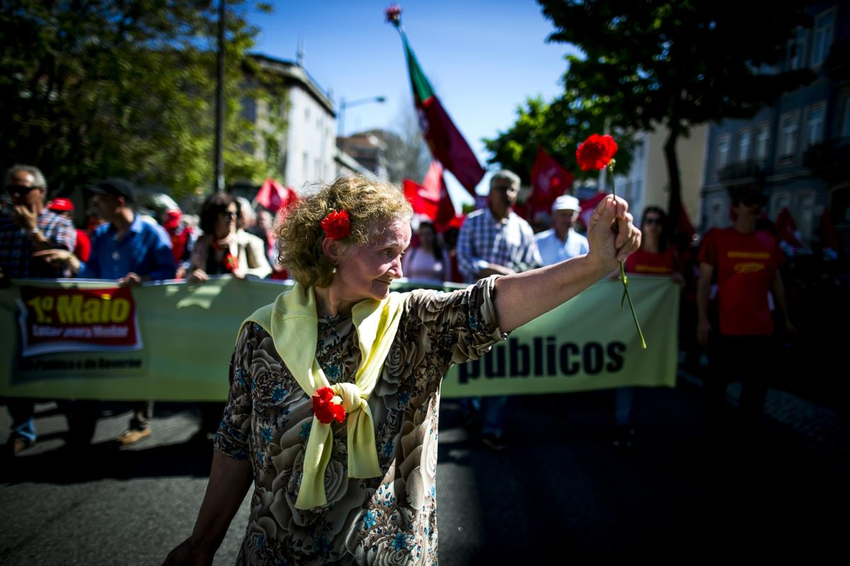 Comemorações do 1.º de Maio, CGTP
