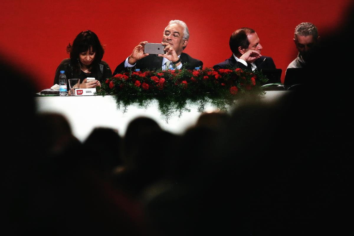 António Costa, 'selfie' no congresso do Partido Socialista