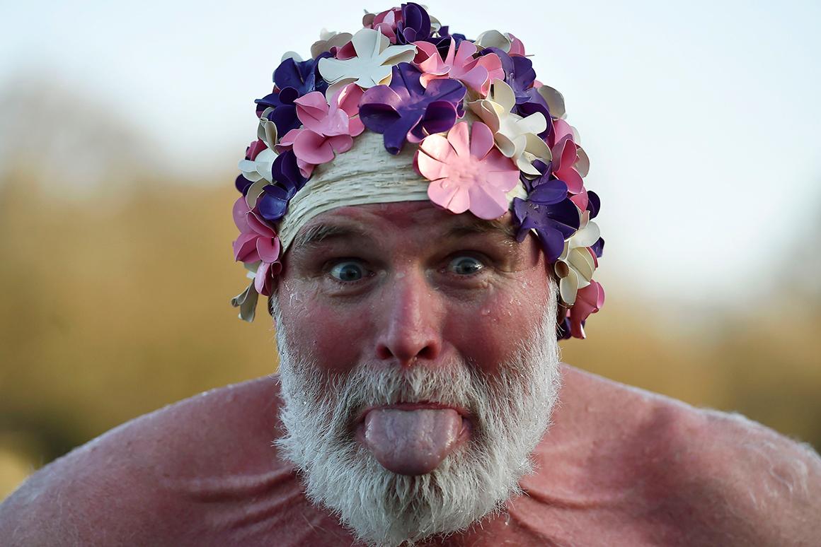 A tradição manda: todos ao banho