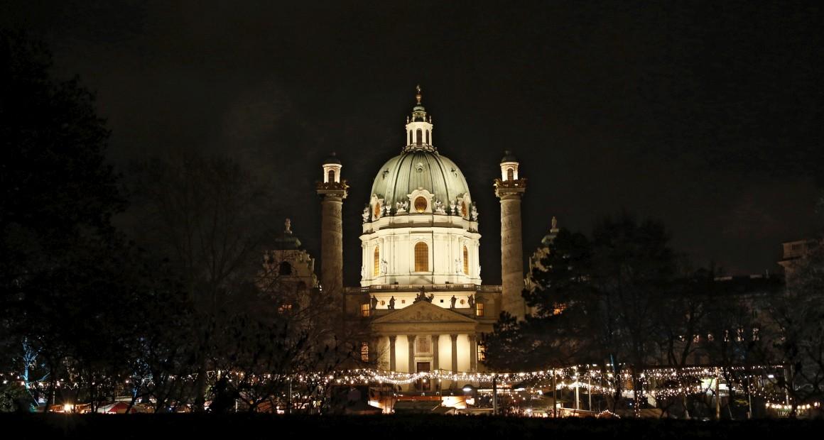 Áustria, Viena, mercado de Natal