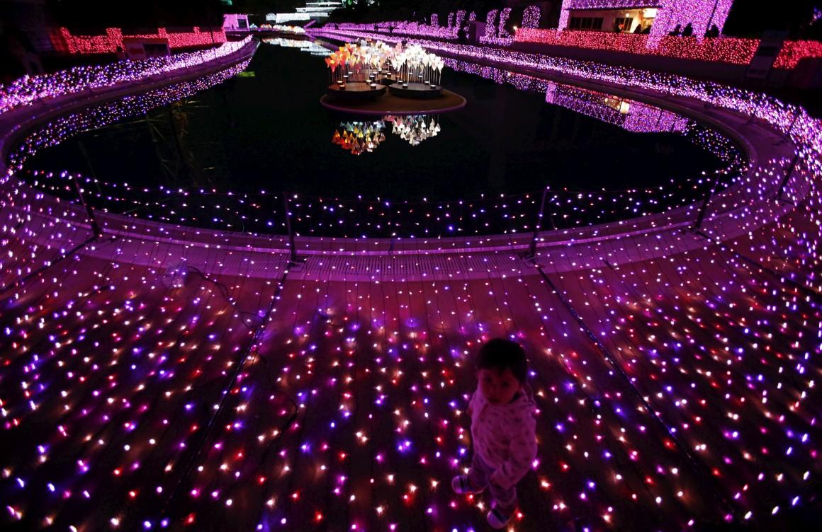 Japão, Tóquio, no parque de diversões Yomiuri