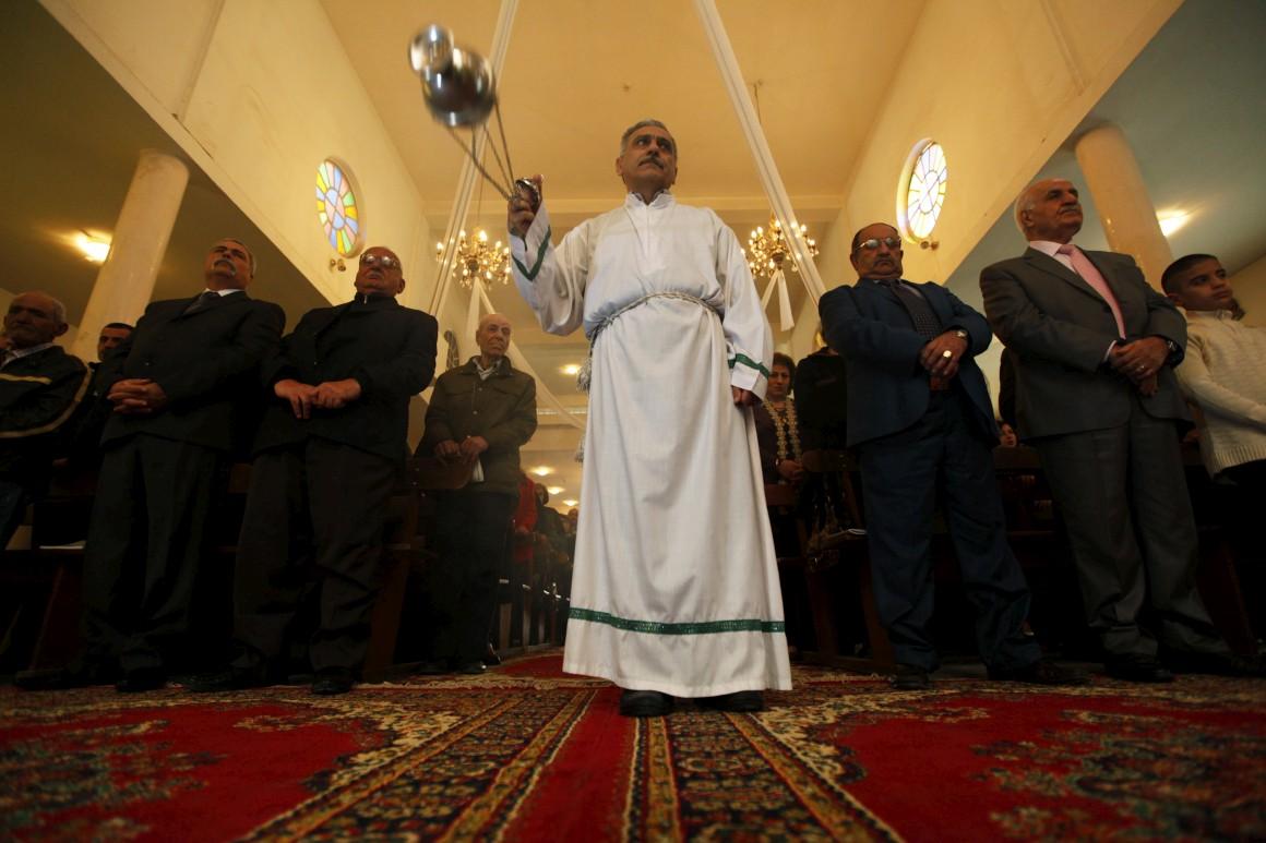 Iraque, um árduo Natal: missa no dia de Natal na igreja do Sagrado Coração em Bagdad