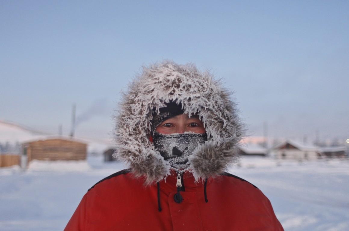 A aldeia mais fria