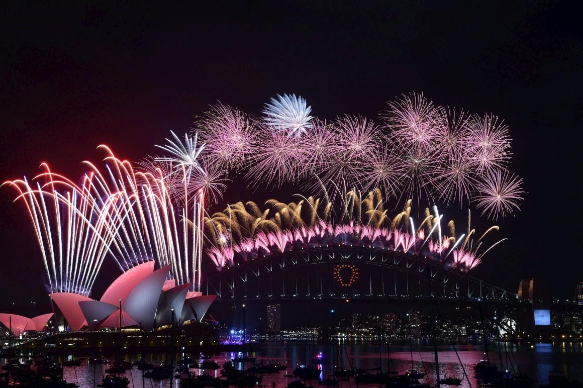 A clássica foto de Sydney