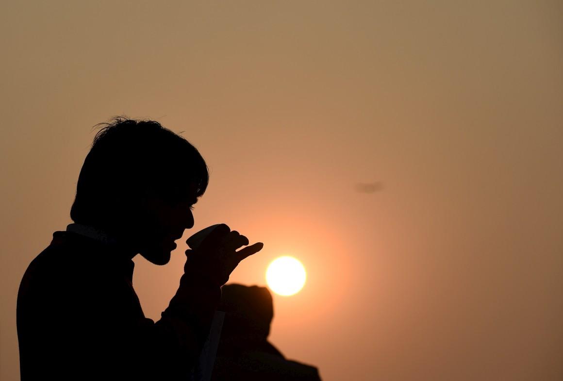 O último Pôr do Sol do ano, Índia