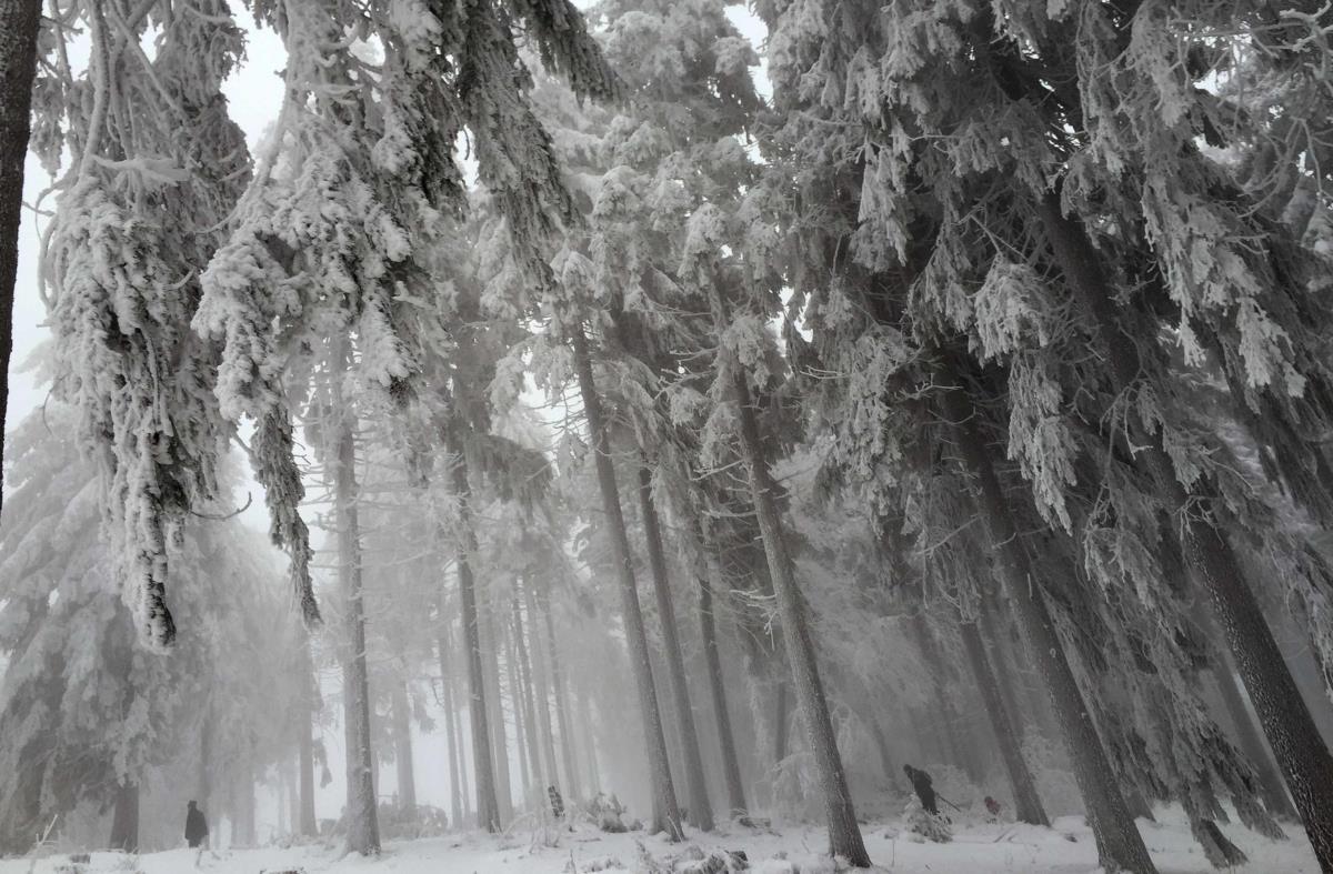 Ano velho e ano novo com muito frio na Alemanha