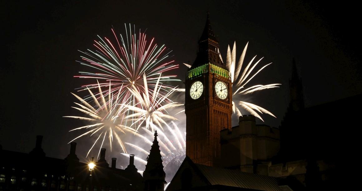 Festejos em Londres, Reino Unido