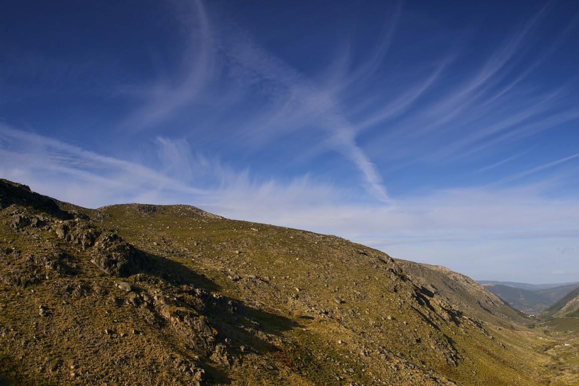 Com 13 quilómetros de extensão, o vale do Zêzere atesta os vestígios da glaciação