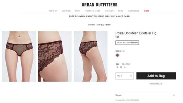 A marca nega que a modelo usada no anúncio tenha peso abaixo do normal