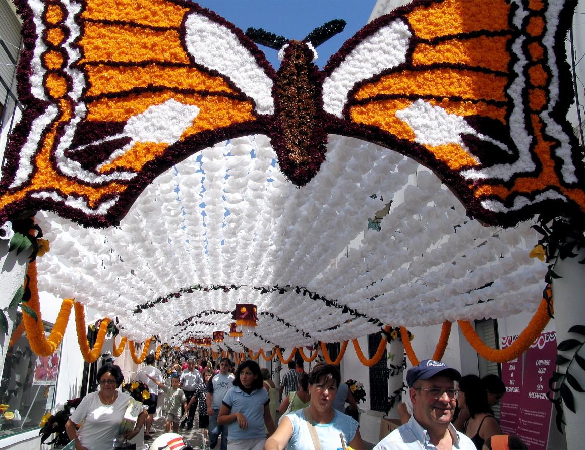 Campo Maior, ruas de flores
