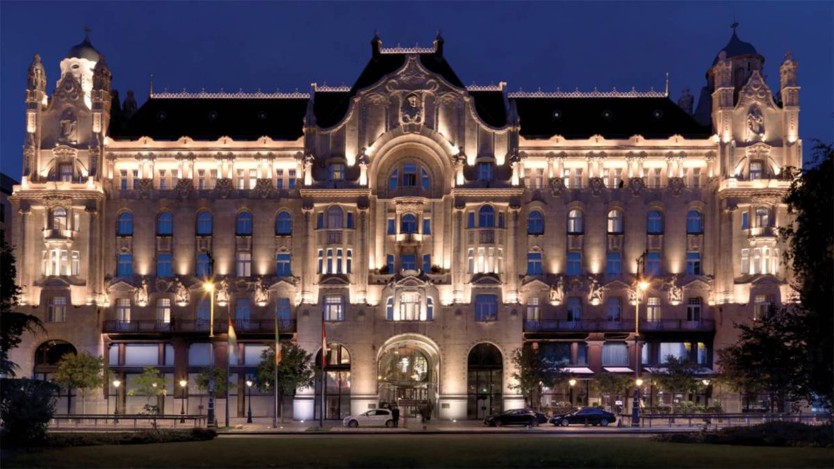 Top 25 Mundial: 4 - Four Seasons Hotel Gresham Palace, Budapeste, Hungria