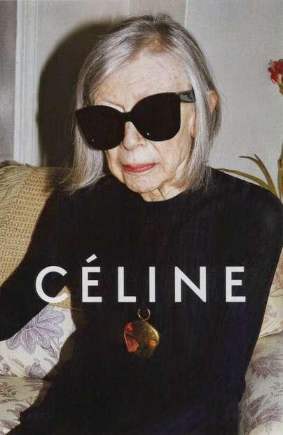 Joan Didion, 80 anos, para a Céline