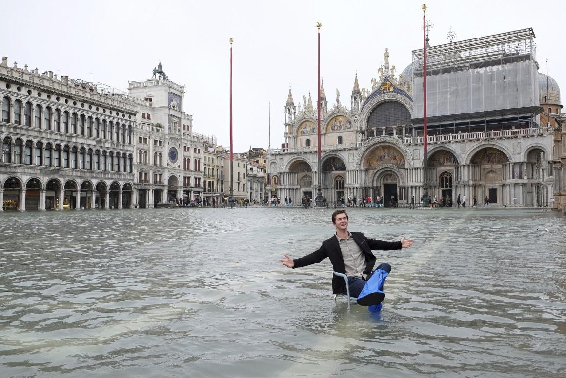 Veneza, maré cheia