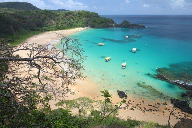 A melhor do Brasil é a melhor do mundo: Baía do Sancho, Fernando de Noronha, Pernambuco
