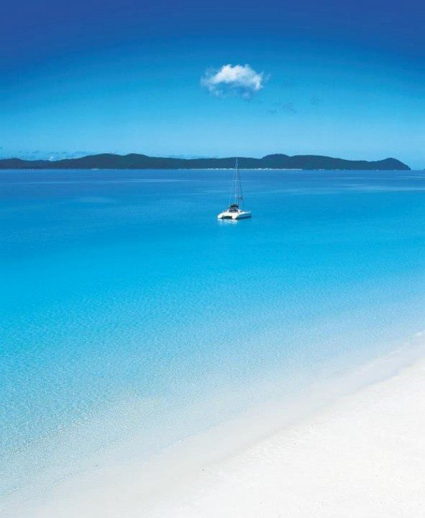 Top mundo: 9 - Whitehaven Beach, Queensland, Austrália