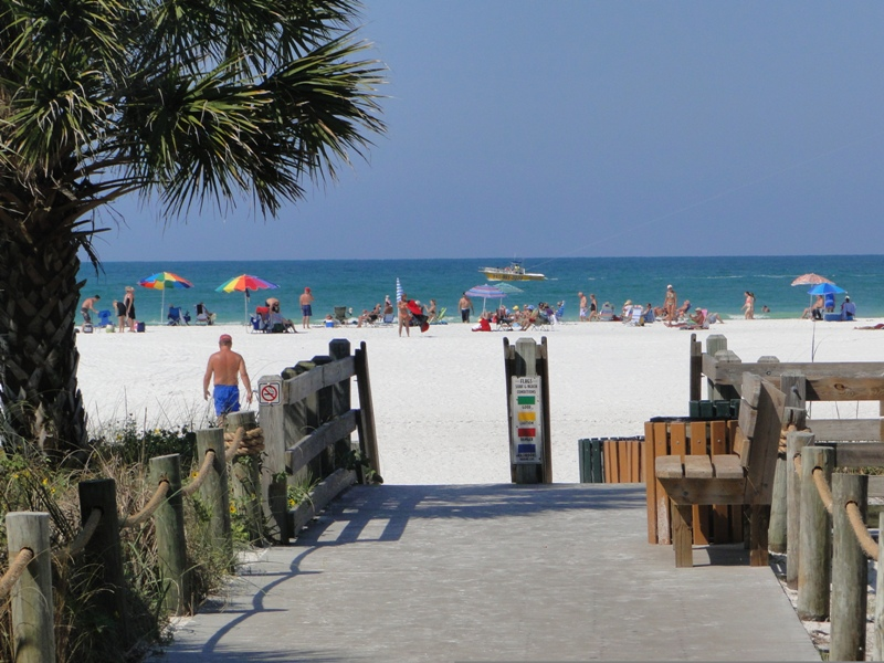 Top mundo: 14 - Siesta Beach, Florida, EUA