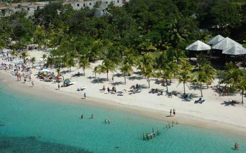 Top mundo: 15 - West Bay, Roatán (Islas de la Bahía), Honduras