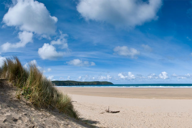 Top mundo: 13 - Woolacombe, North Devon, Reino Unido