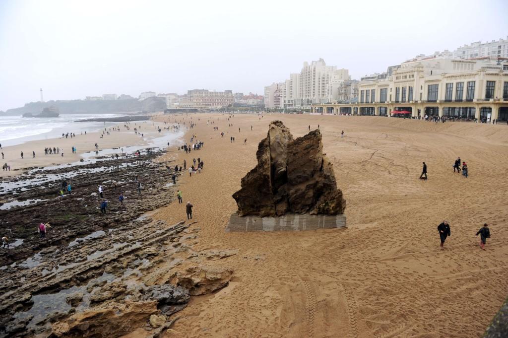 De volta a França, agora na estância balnear de Biarritz