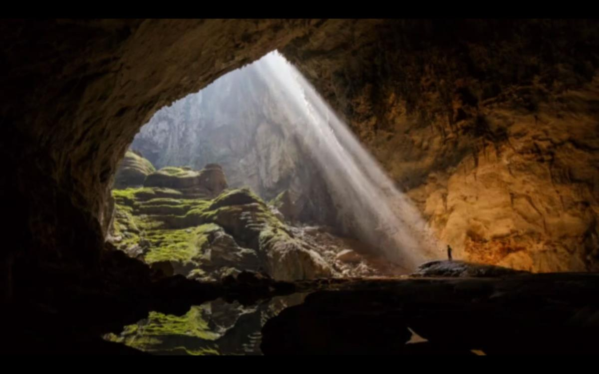 Hang Son Doong. Imagem do vídeo de Ryan Deboodt