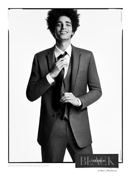 Luís Borges é a cara da primeira colecção masculina de Vera Wang
