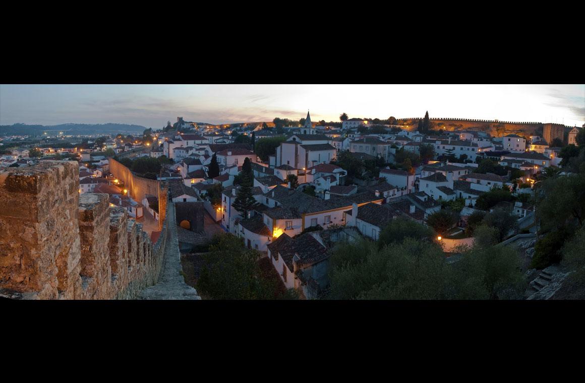 A imagem de Óbidos que abre o artigo da CNN