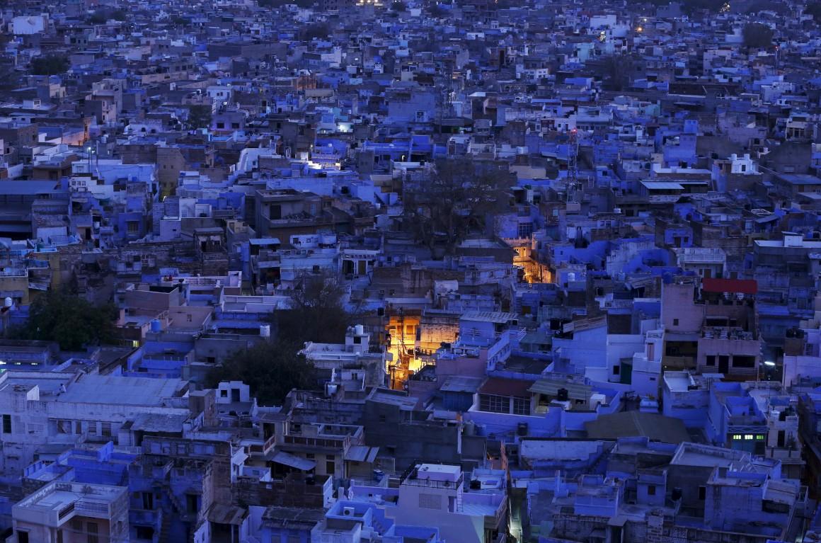 Índia: A cidade azul