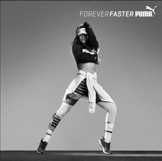 Rihanna fez a sua primeira campanha para a Puma
