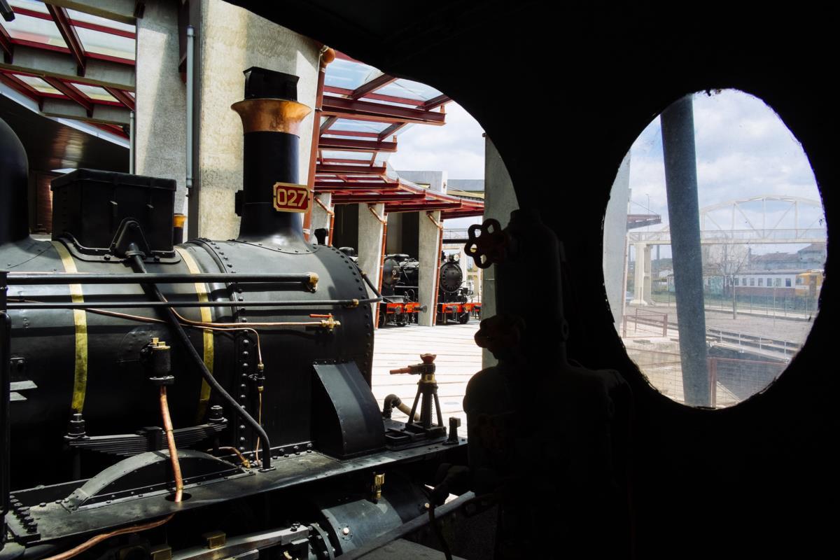 Museu Nacional Ferroviário, Entroncamento
