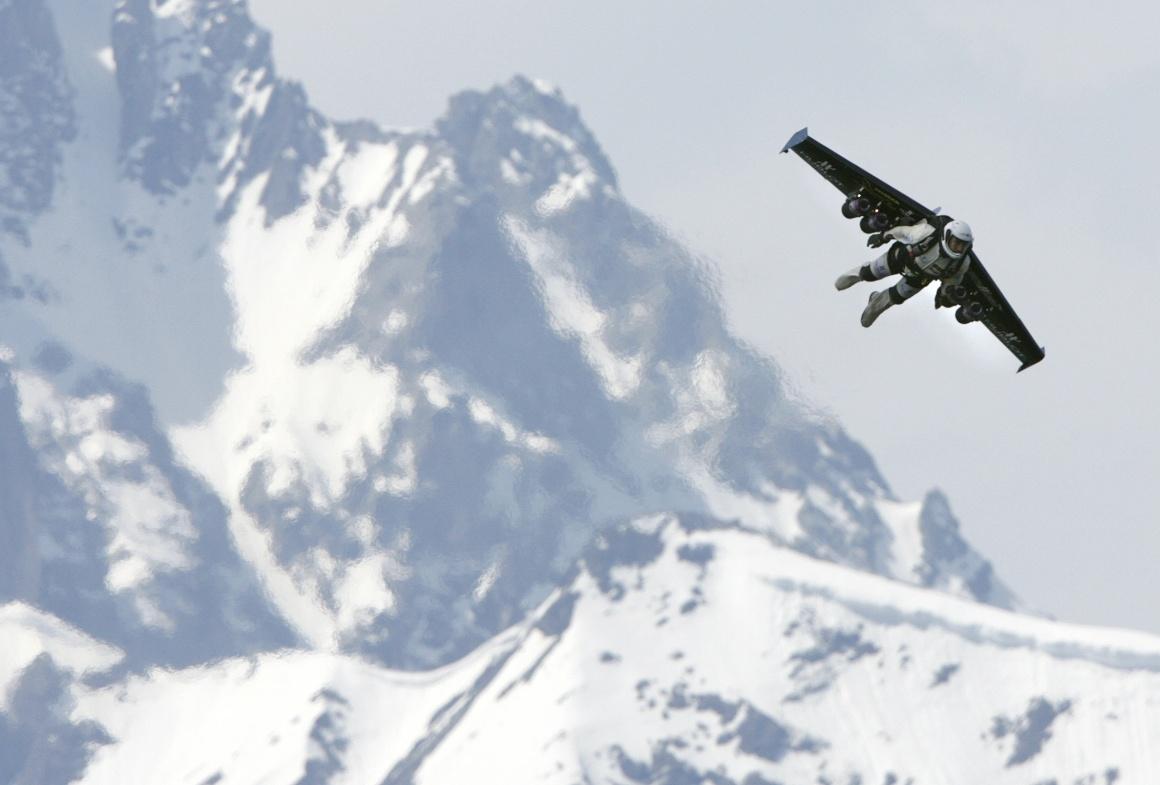 Nos Alpes suíços