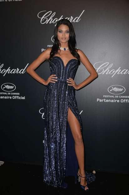 A modelo brasileira Daniela Braga