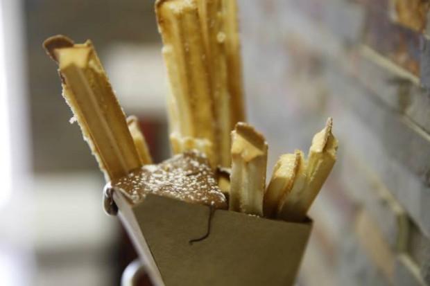 Os churritos, um dos produtos exclusivos da Nut